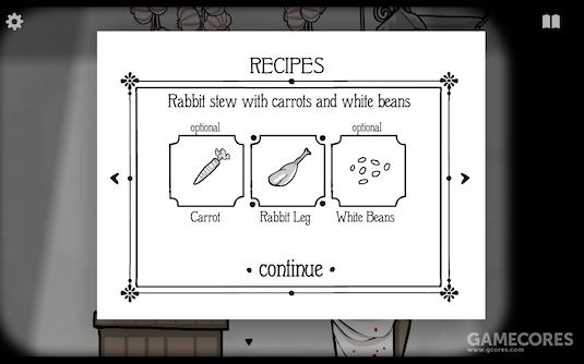 Day 4 胡萝卜、兔后腿、白豆