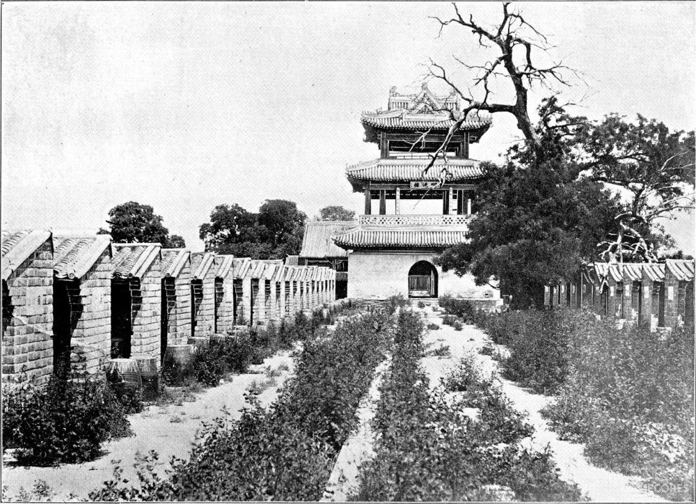 北京贡院的历史影像,如今早已不复存在