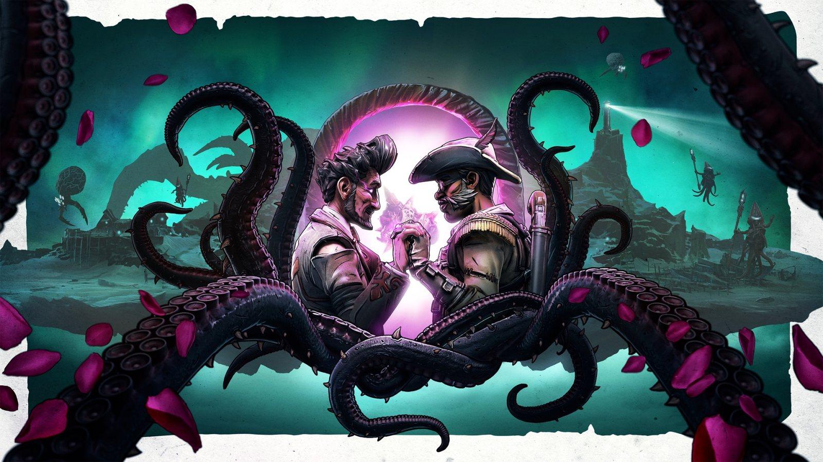枪炮、爱情与触手,《无主之地3》公布全新DLC