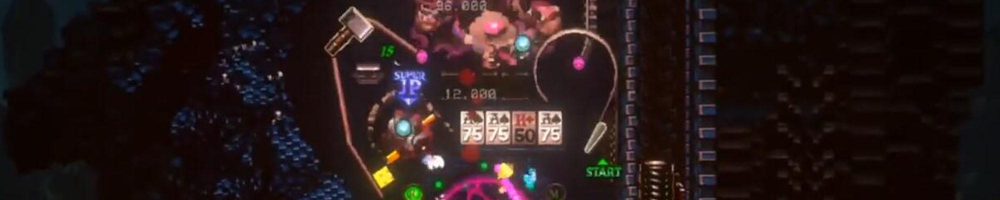 有一款画面非常炫酷的弹珠台游戏已经在STEAM上架了