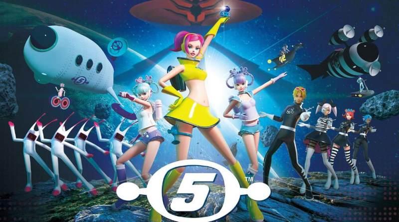 游戏《太空频道5 VR 新星舞蹈秀》PS4版2月26日发售