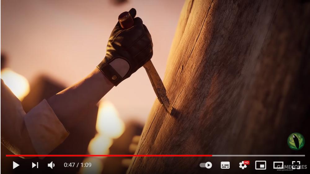 ▲夏洛克(根据手套判断)也往复仇之柱上插了匕首[8],大概是决定要给母亲报仇吧