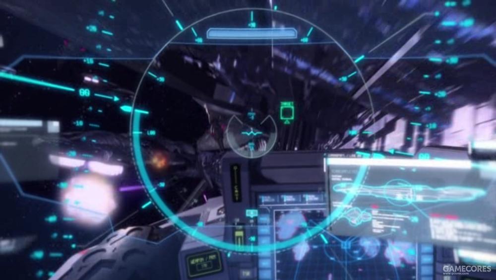 """""""雷神锤""""盔甲HUD显示的操作界面"""