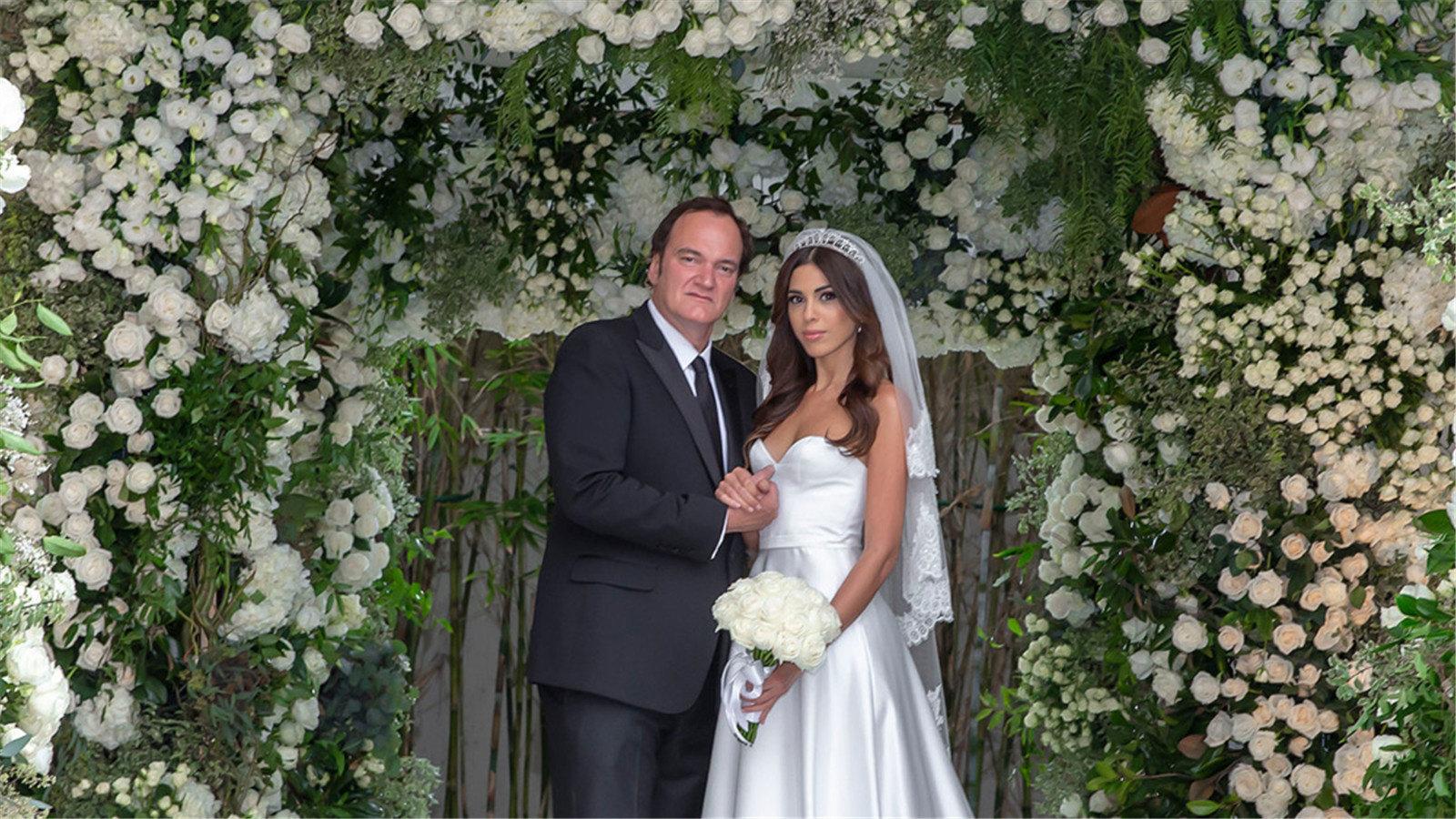 恭喜!昆汀·塔伦蒂诺与 Daniella Pick 在洛杉矶完婚