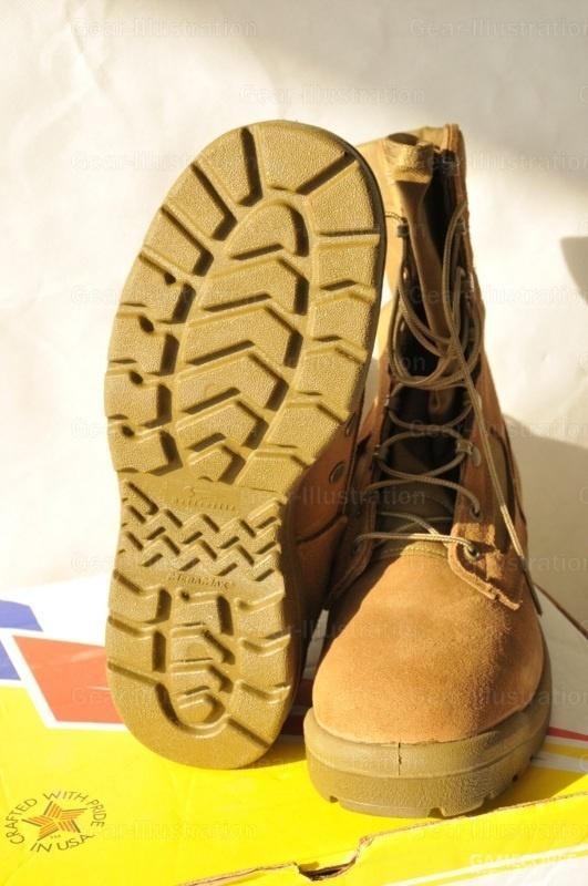 陆战队配发的热带作战靴(MHW)