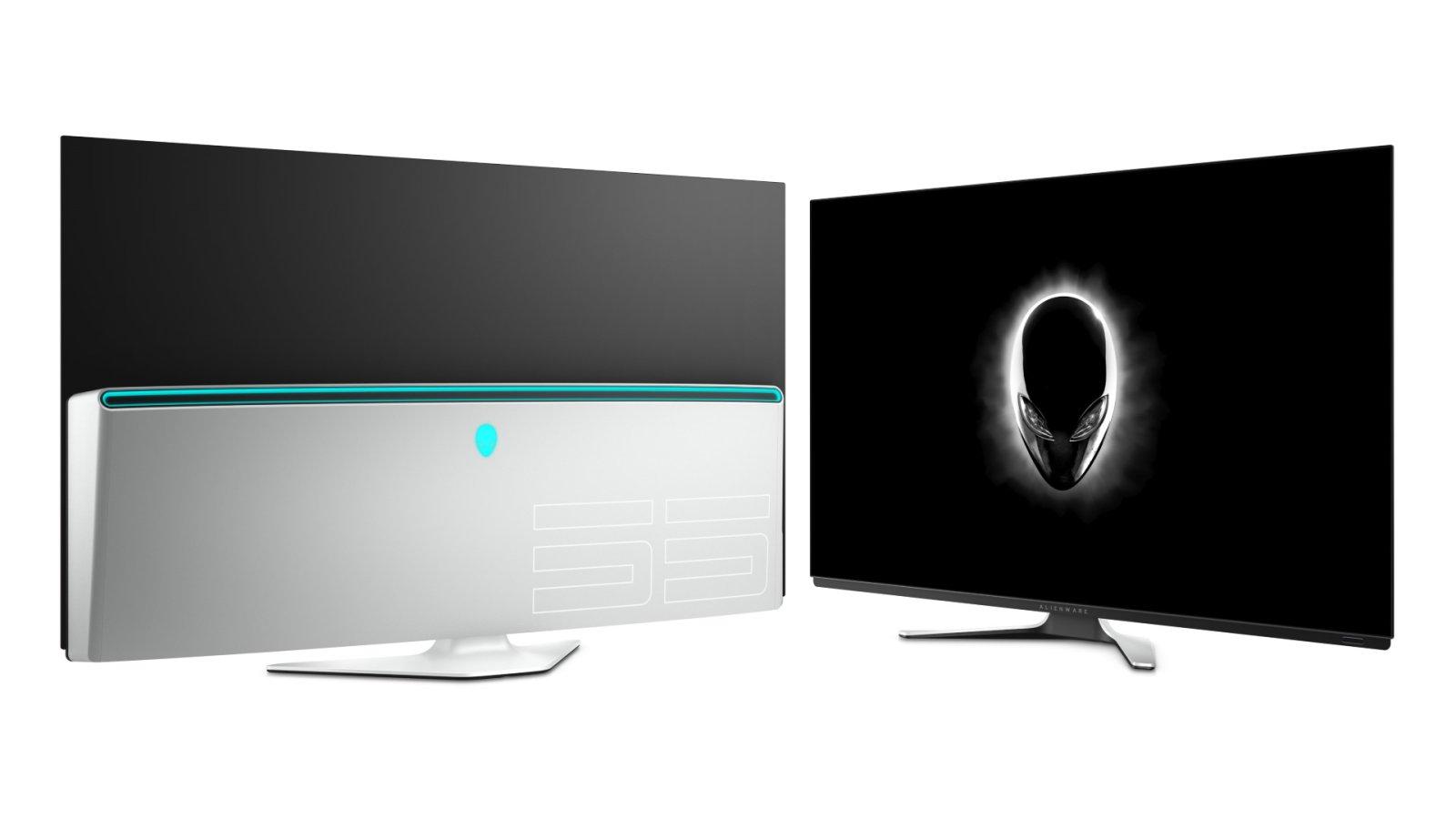 戴尔及ALIENWARE于京东首发全新54.6英寸OLED游戏显示器AW5520QF