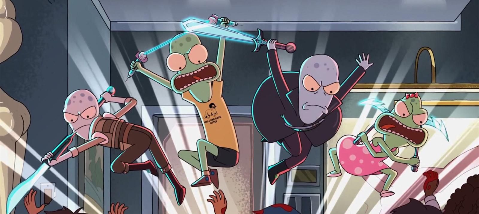 《瑞克与莫蒂》主创打造,动画剧集《外星也难民》发布预告