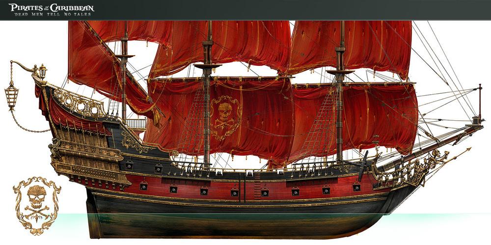 加勒比海盗的安妮女王复仇号
