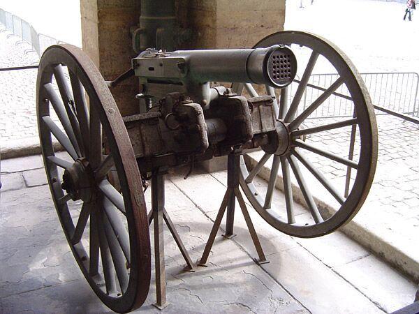 19世纪早期的多管齐射武器