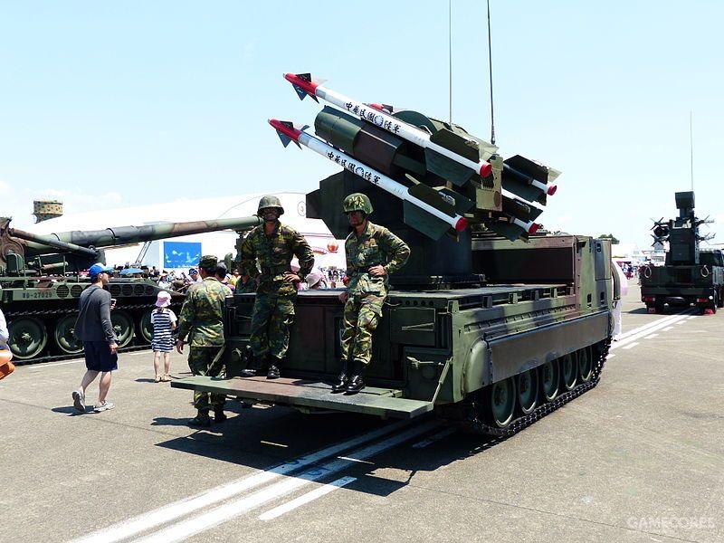 台湾的MIM- 72/M48,发射单元里有操作手