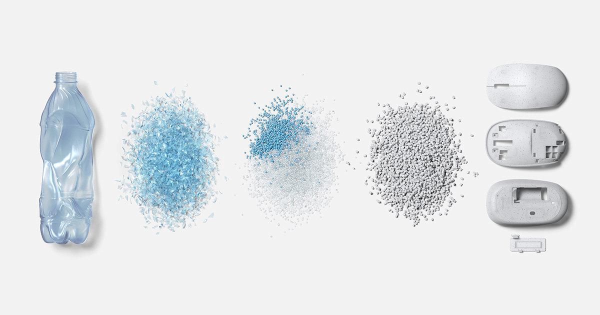 微软携合作伙伴研发特殊树脂,打造海洋环保鼠标