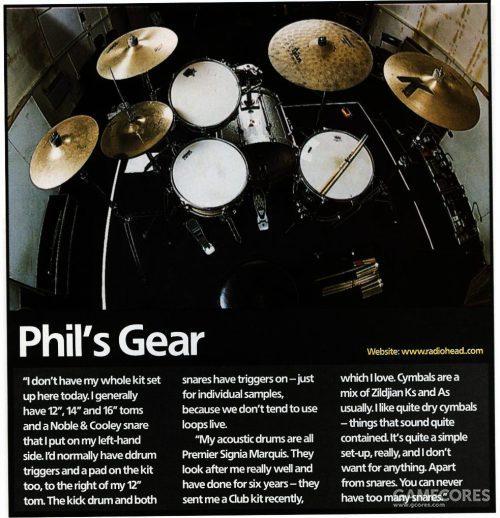 2001年 Rhythm 杂志的部分截图