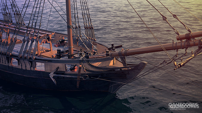 brig是单层连续火炮甲板(寒鸦号飞天潜水战列舰例外)