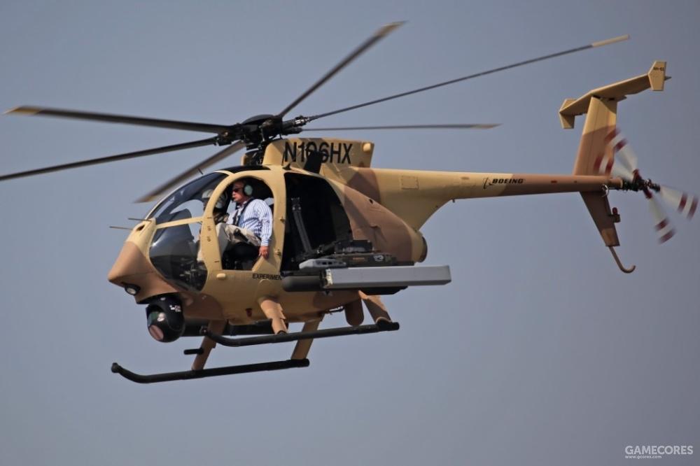 现实中的AH-6