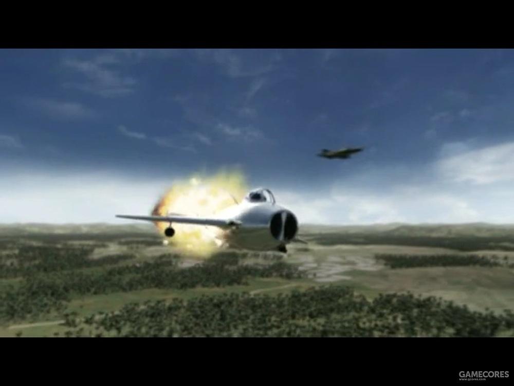 1972年6月2日,菲尔·汉德利驾驶的F-4E在打光了导弹后,进入超音速用机炮击落了一架歼-6,也是F-4为数不多的机炮战绩