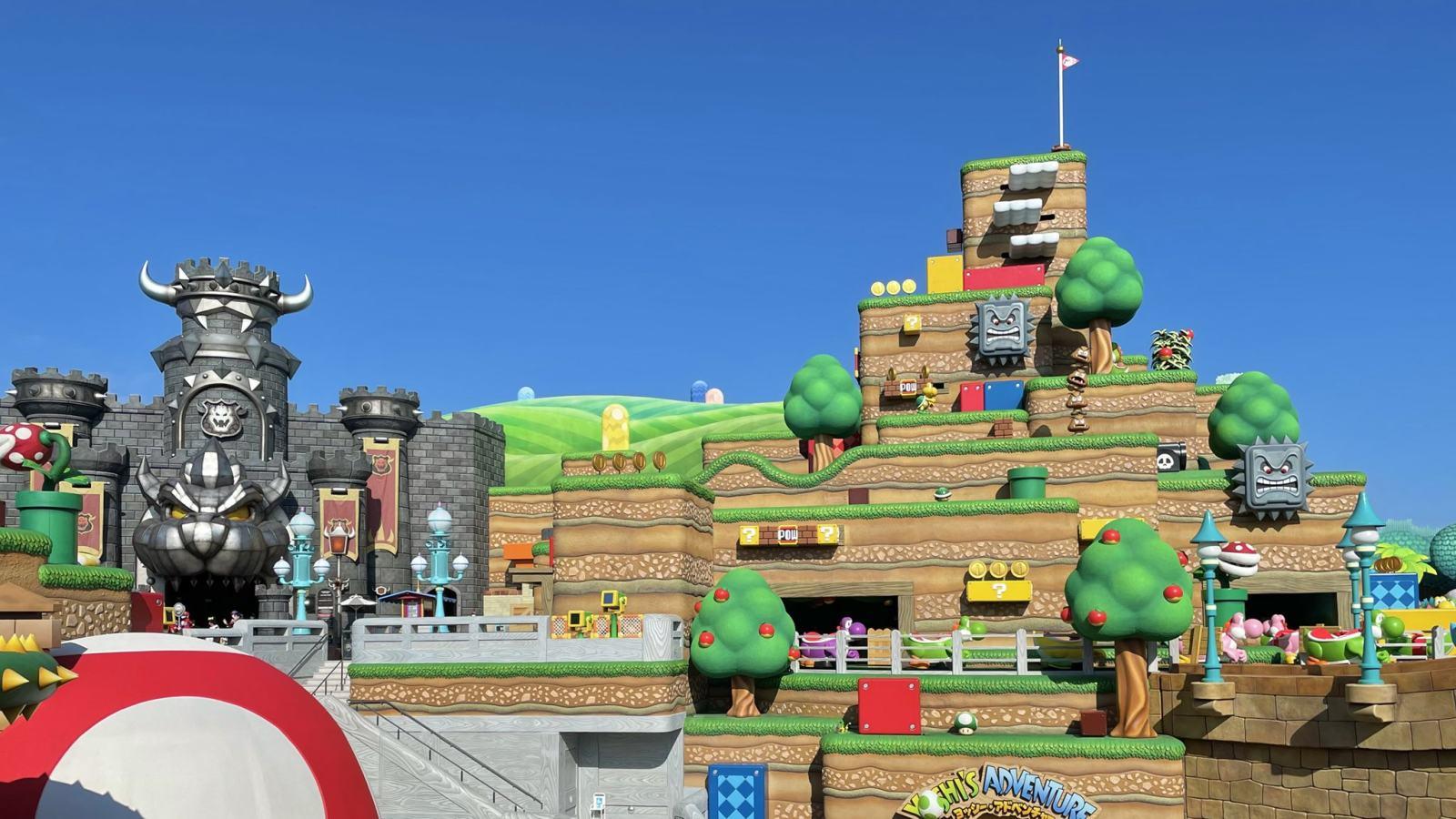 "USJ新园区、""超级任天堂世界""3月18日正式开业"