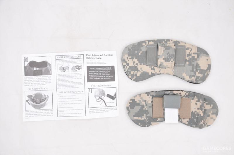 两个不同版本的后枕防护组件