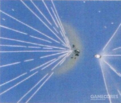 其发射镀月神钛弹头时能形成可怕的短距离面杀伤破坏。直到UC 0096年,依旧有吉翁残党MS使用这一武器的记录。