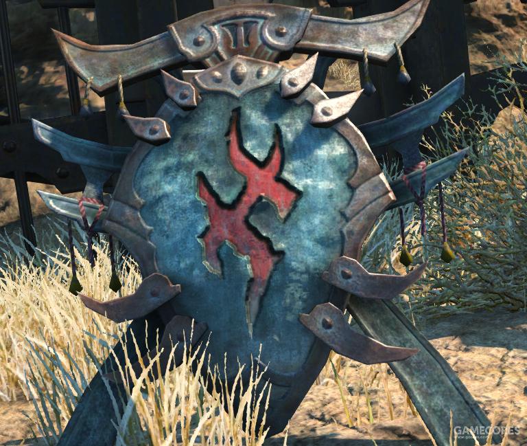 蜥蜴人族的族纹,象征着火神伊芙利特所赐予的不灭圣火