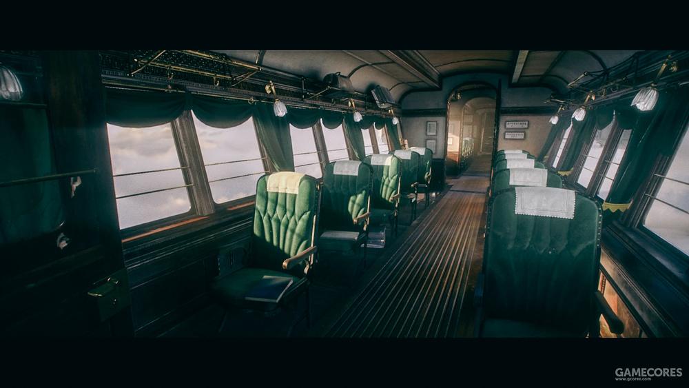 飞艇,其中有个场景,仔细观察会发现,连最普通的凳子也是精心设计过