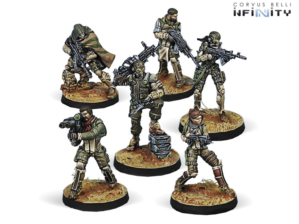 以轻步兵为主的哈萨辛部队