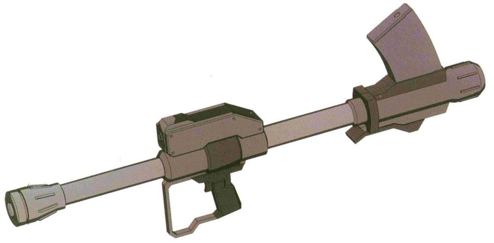 ERRL-TYPE.Doc-04型380MM无后坐力炮。发射地面环境专用的带弹翼型380MM火箭弹。该型无后坐力炮能够拆卸塞入武装货柜中。