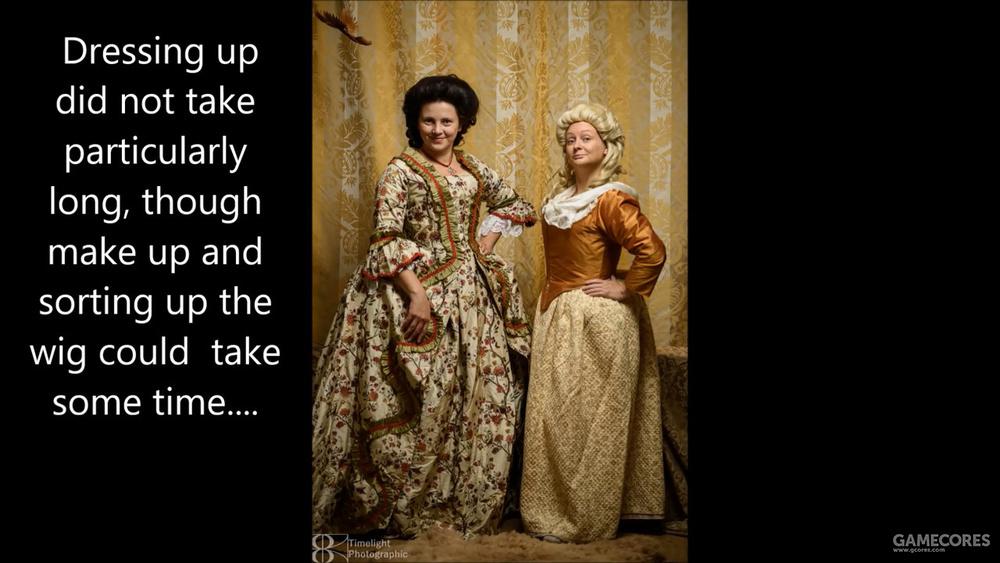 DONE. 右边的是社会中等阶级女子的衣着