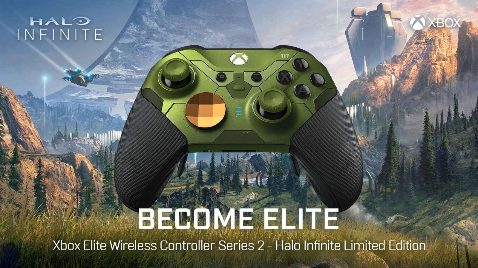 国行版Xbox《光环:无限》精英无线控制器二代将于11月15日正式发售