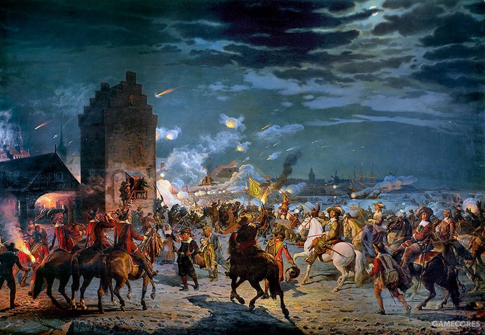 第二次北方战争期间,瑞典军队包围哥本哈根