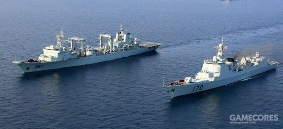 从2008年底开始,中国海军在索马里海盗经常出没的亚丁湾进行护航