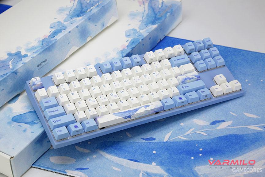 阿米洛海韵主题机械键盘