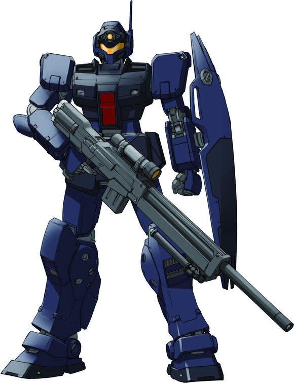 战后,Titans也装备过少量的RGM-79SP