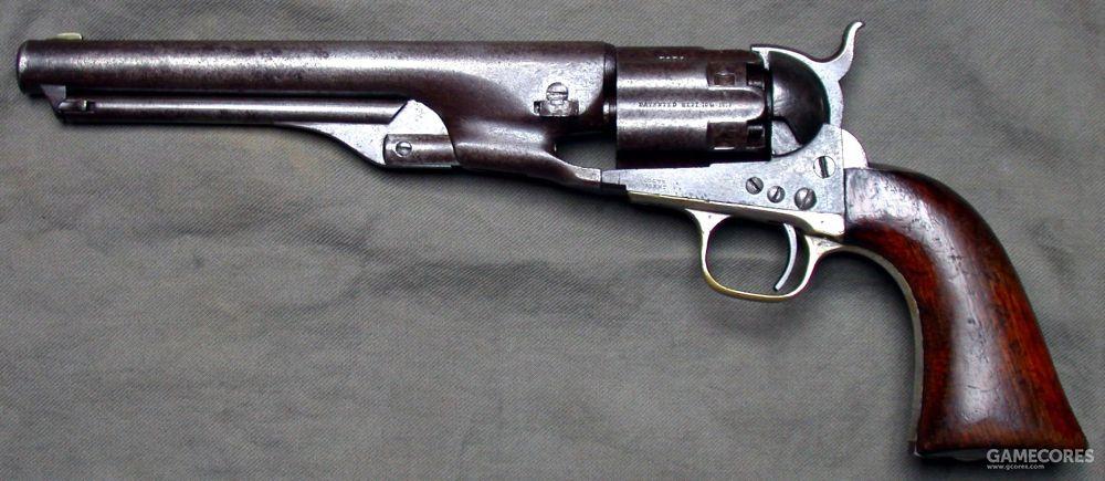 柯尔特1860转轮枪