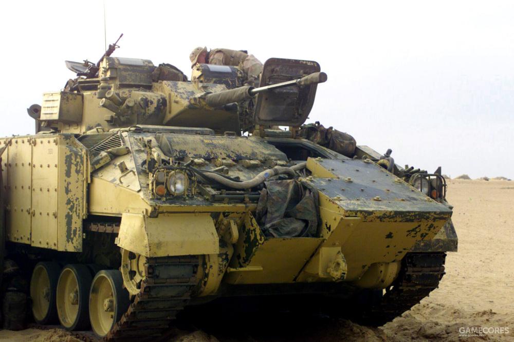 """部署在科威特的""""武士"""""""