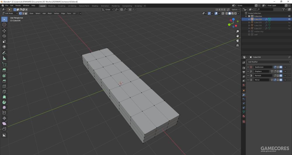一切都从简单的方块开始。