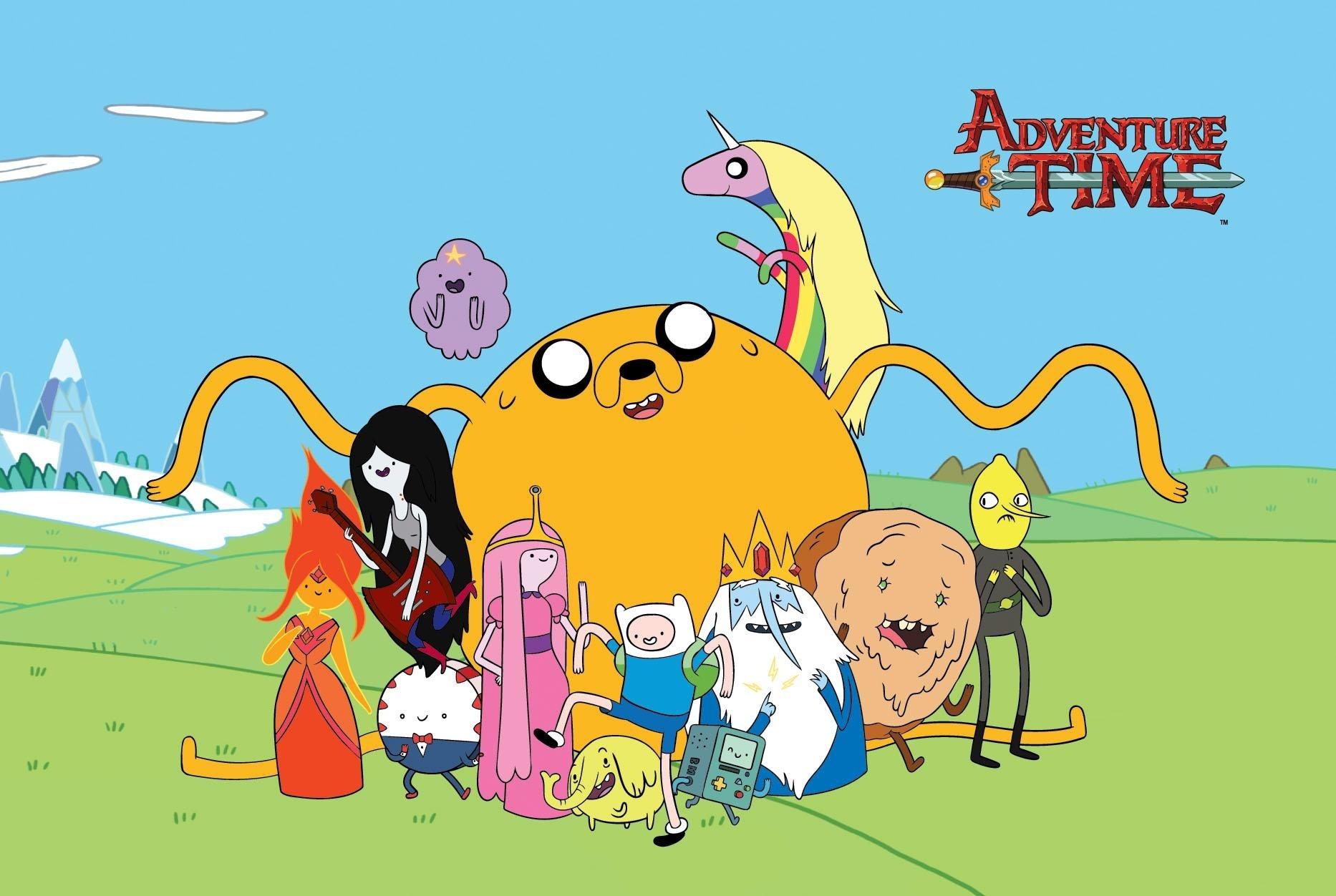 《Adventure time》,一部蘑菇雲升起後的胡逼動畫