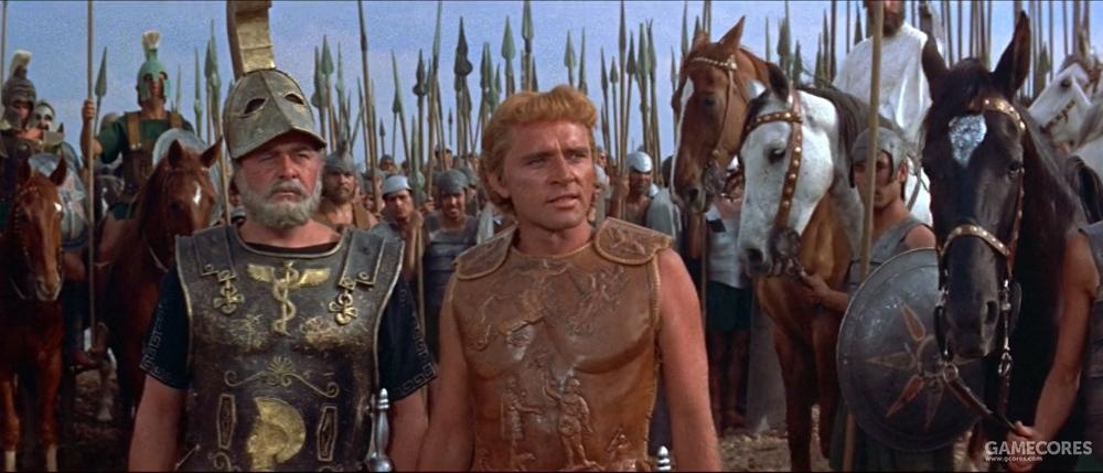 马其顿步兵和骑兵
