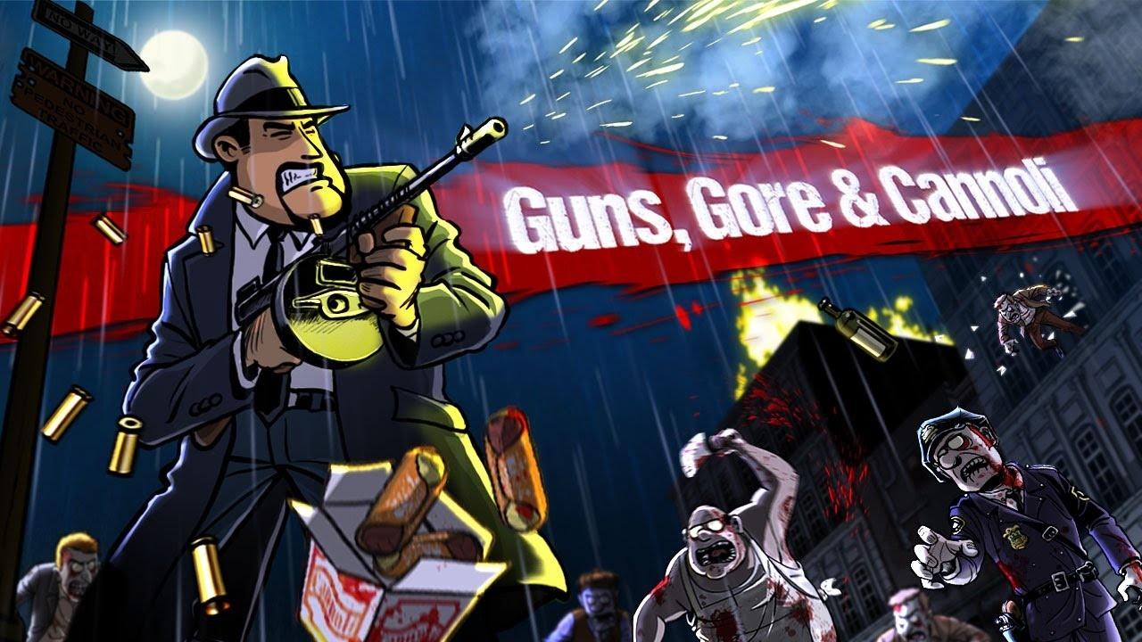 熱鬧又爽快,《Guns, Gore & Cannoli》現已登陸NS