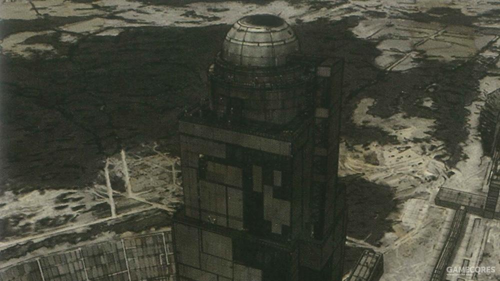 激光塔塔顶