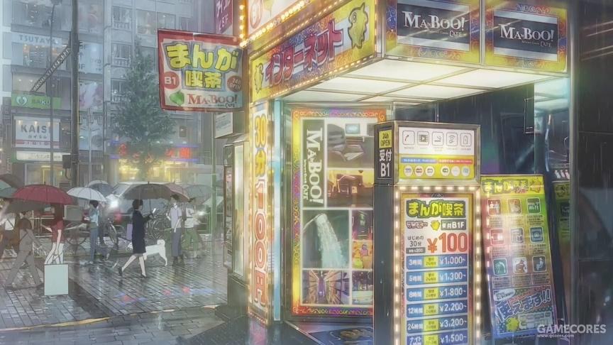 连续的阴雨天使雨本身变得稀松平常,人们开始习惯这样的夏天,一如往常地生活。