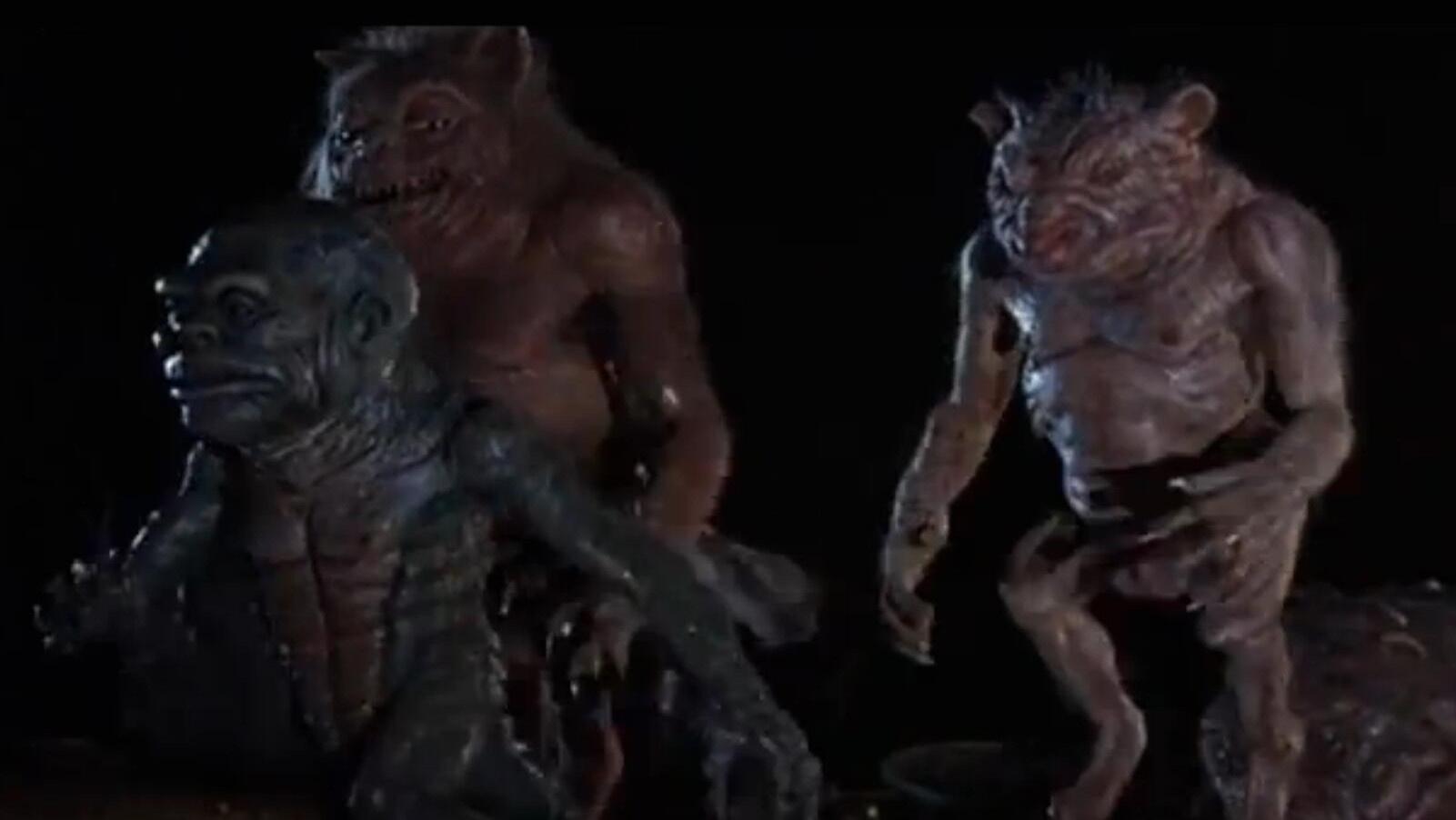 這些要多醜有多醜的傢伙,就是上個世紀美國人樂此不疲的怪物形象