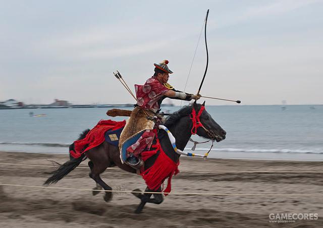 现代人还原的日本骑射术