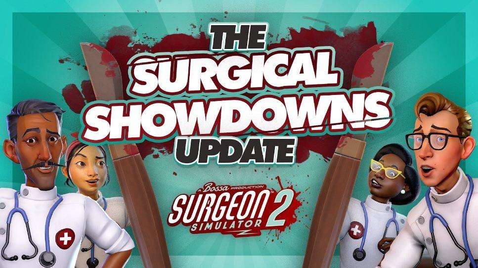 游戏《外科手术模拟2》今日更新,追加更多对战模式