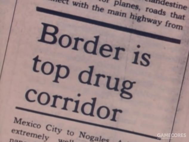 边境成为了毒品运输的绝佳走廊