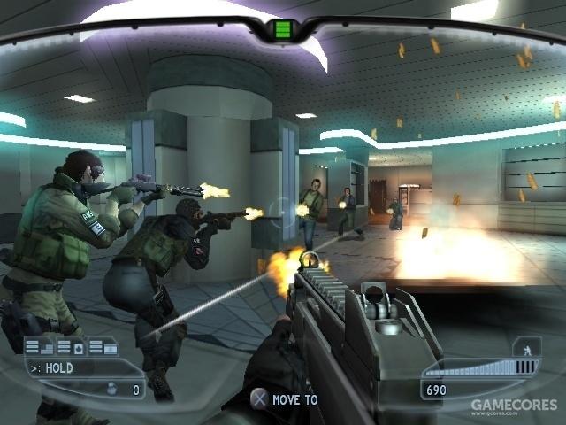 主机玩家玩到的《彩虹六号:禁闭》可以是这样……