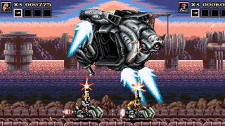 这款怀旧风的动作游戏让我想起了MD的《魂斗罗:铁血军团》