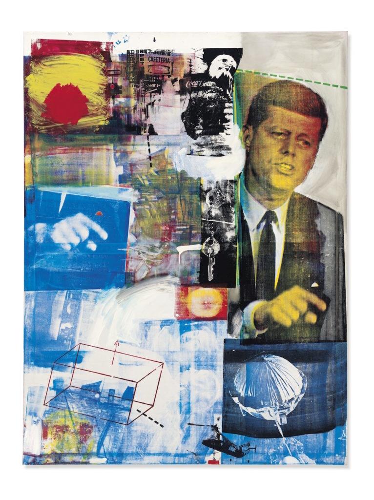 1964年《Baffalo II》,仍然是 Robert Rauschenberg。这是他一系列裁剪拼贴的作品之一。在我看来这些作品的话题性高于艺术性,作为网络文化传播一下没什么问题,但你跟我说这就是艺术……就当是我的审美能力不够。