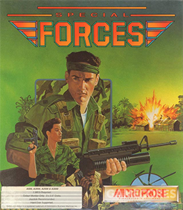 Special Forces(MicroProse,1991)封面