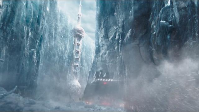 """刘慈欣经典科幻小说《流浪地球》改编电影放出预告片""""冒险启程"""""""