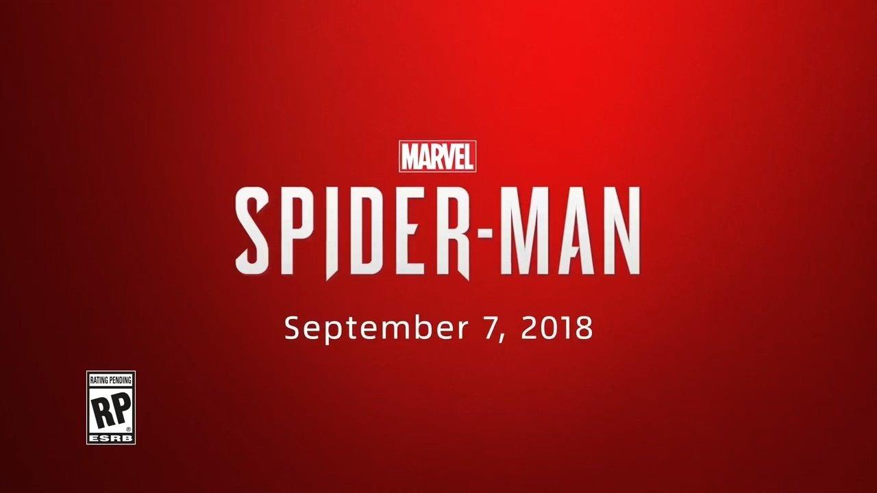 《漫威蜘蛛侠》发售日正式公布:9月7日